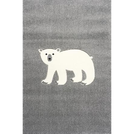 ScandicLiving Tapijt ijsbeer zilvergrijs, 120x180 cm, 120x180 cm