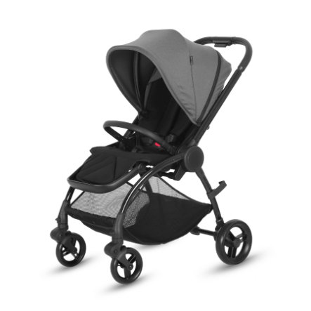 knorr-baby Poussette Kira noir/taupe