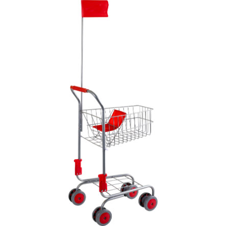 LEGLER Carrito de supermercado plateado
