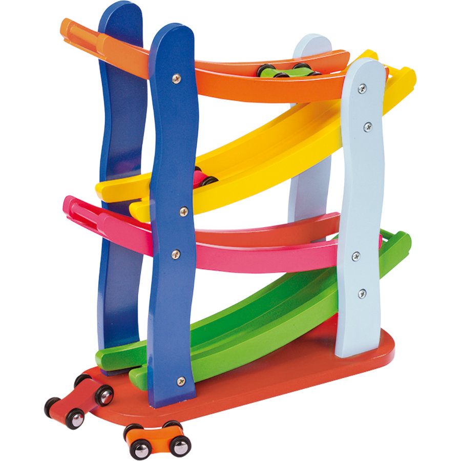 small foot® Circuit de course, multicolore