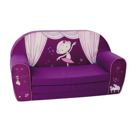 knorr® toys Canapé enfant NICI Miniclara violet