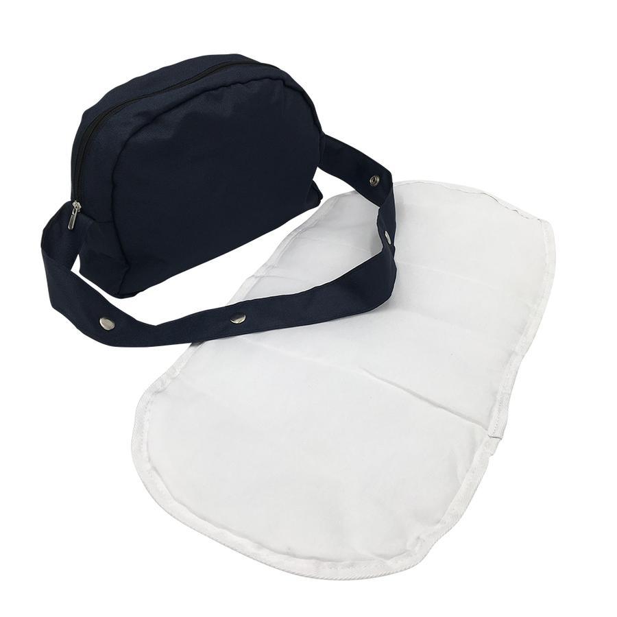 knorr® sac à couches pour poupées jouets - bleu marine