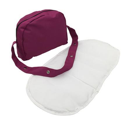 knorr® toys Skötväska för dockor - pink purple