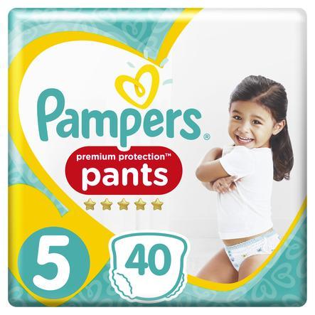Pampers Premium Protection nappy Pants Gr. 5 Junior 40 Windel 12 bis 17 kg Jumbopack