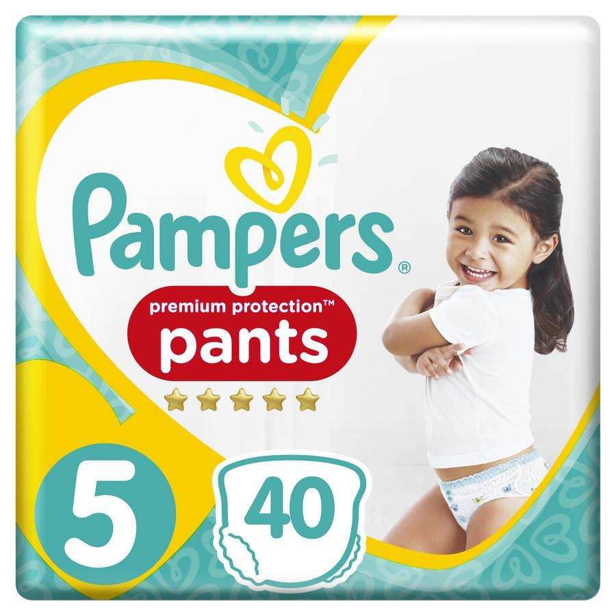 Pampers Premium Protection Pants Maat 5 Junior 40 Luier 12 - 17 kg Jumbopack