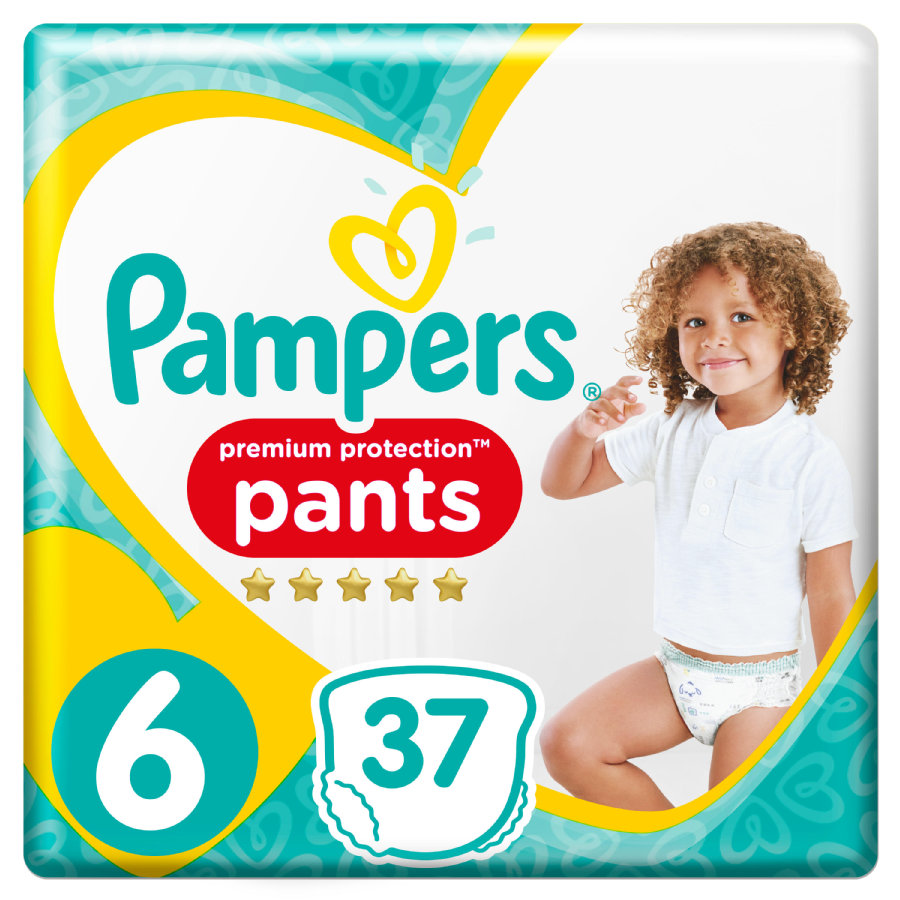 Pampers Premium Protection nappy Pants Gr.  6 Extra Large 37 Windeln 15+ kg Jumbopack