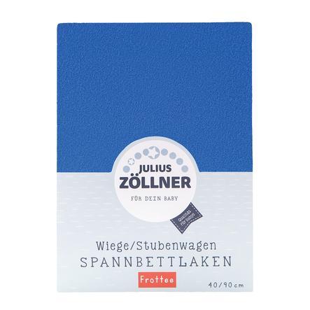 JULIUS ZÖLLNER montert laken frotté for vugge blå