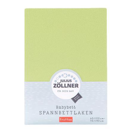 JULIUS ZÖLLNER Drap housse de lit enfant éponge vert 70x140 cm