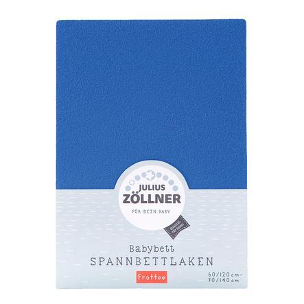 ZÖLLNER Natahovací froté prostěradlo - modré