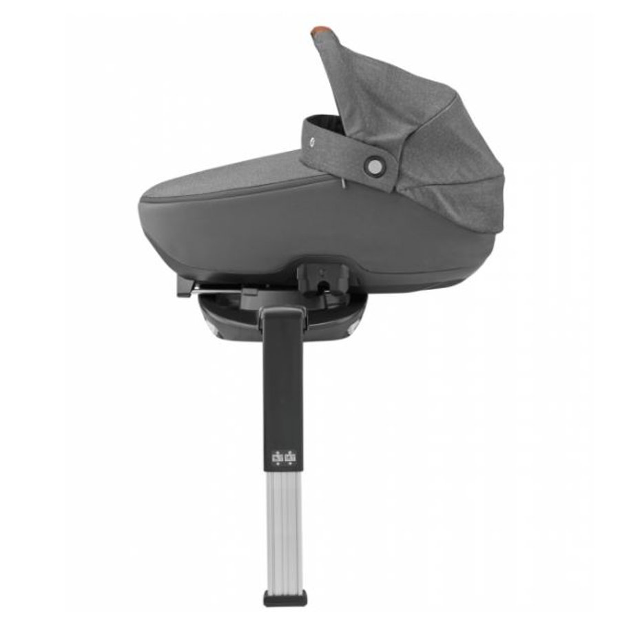 MAXI COSI Kinderwagenaufsatz Jade Sparkling Grey inklusive Basisstation 3WayFix
