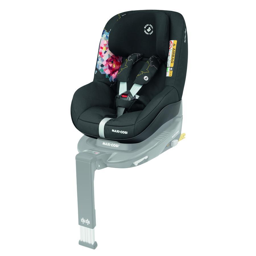 MAXI COSI Kindersitz Pearl Pro i-Size Digital Flower inklusive Basisstation 3WayFix
