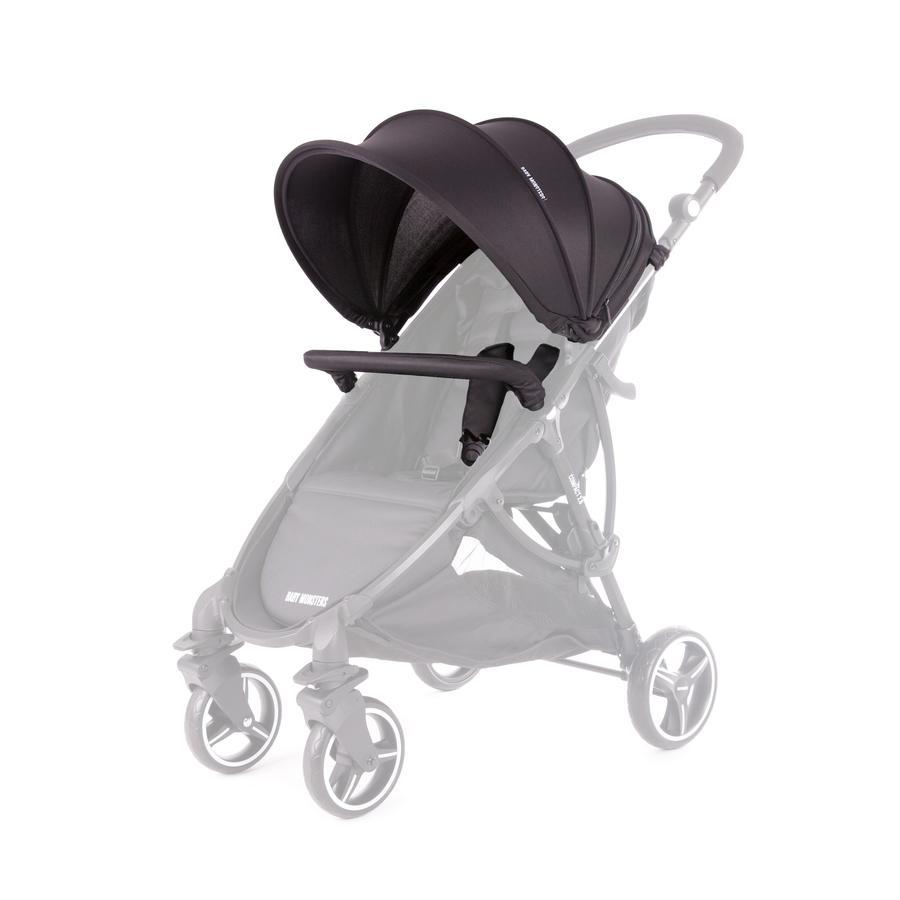 BABY MONSTERS Zestaw kolorystyczny do wózka Compact 2.0, Black