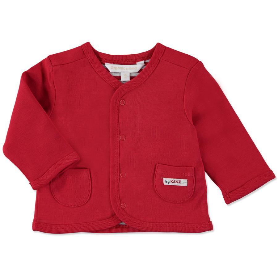 KANZ Baby Mikina tango red