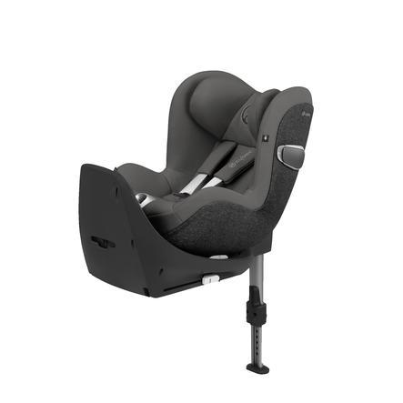 cybex PLATINUM Kindersitz Sirona Z R i-Size mit Basisstation Base Z Manhattan Grey