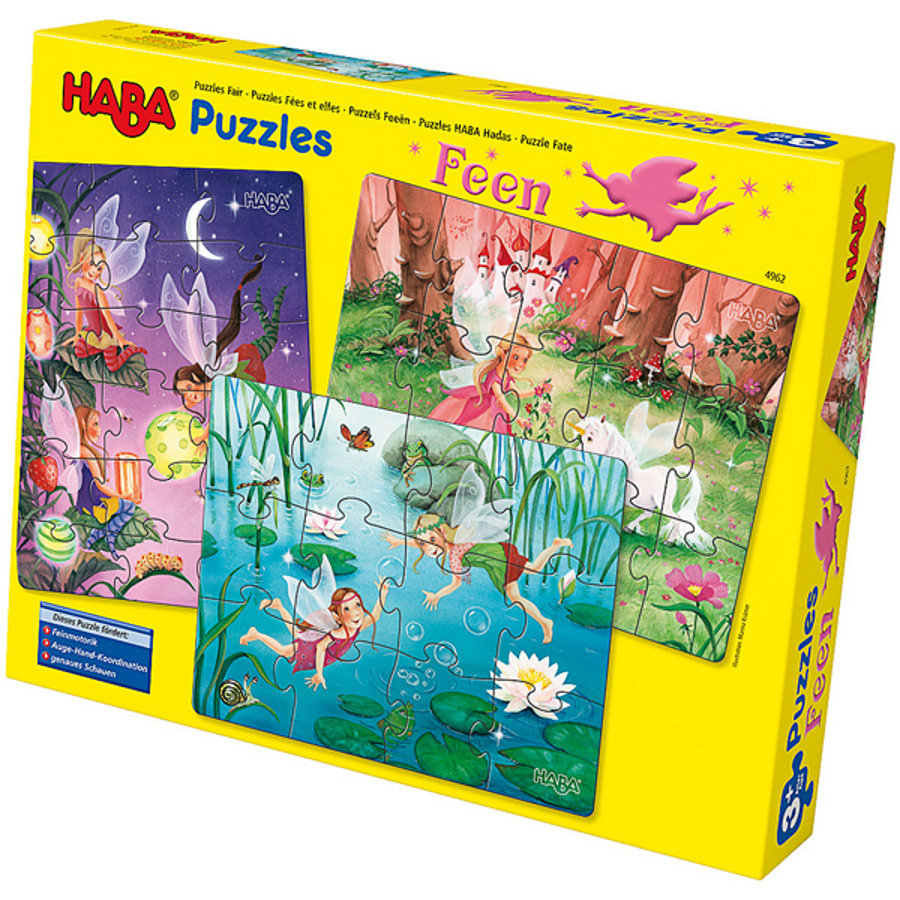 HABA Puzzle Fairies