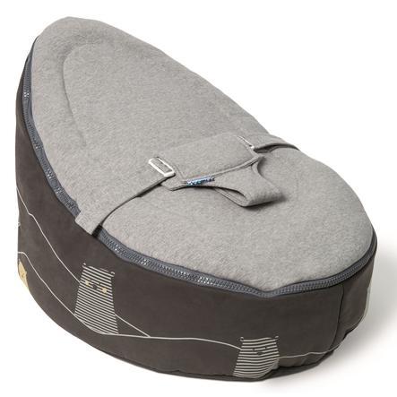 Doomoo Beanbag Seat Bear šedá