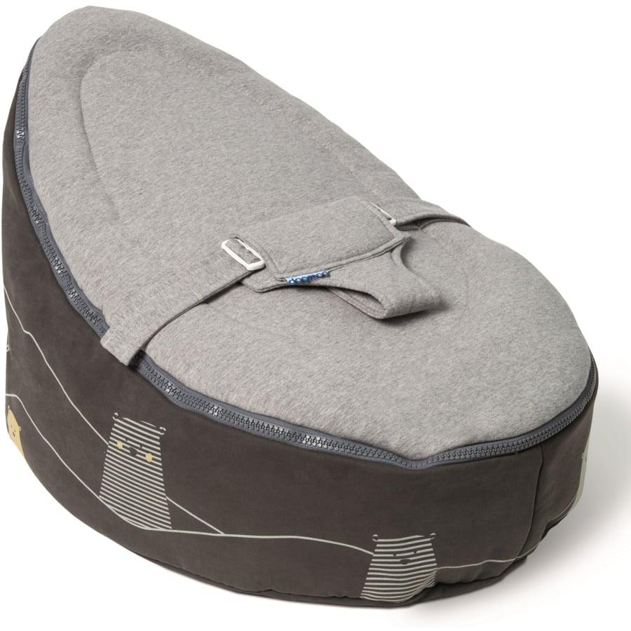 Doomoo Sitzsack Seat Bär grau