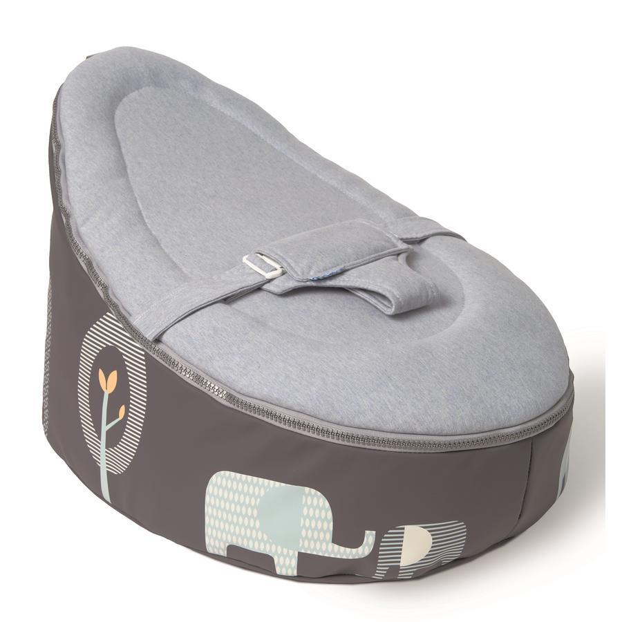Doomoo Sitzsack Seat Elefant blau