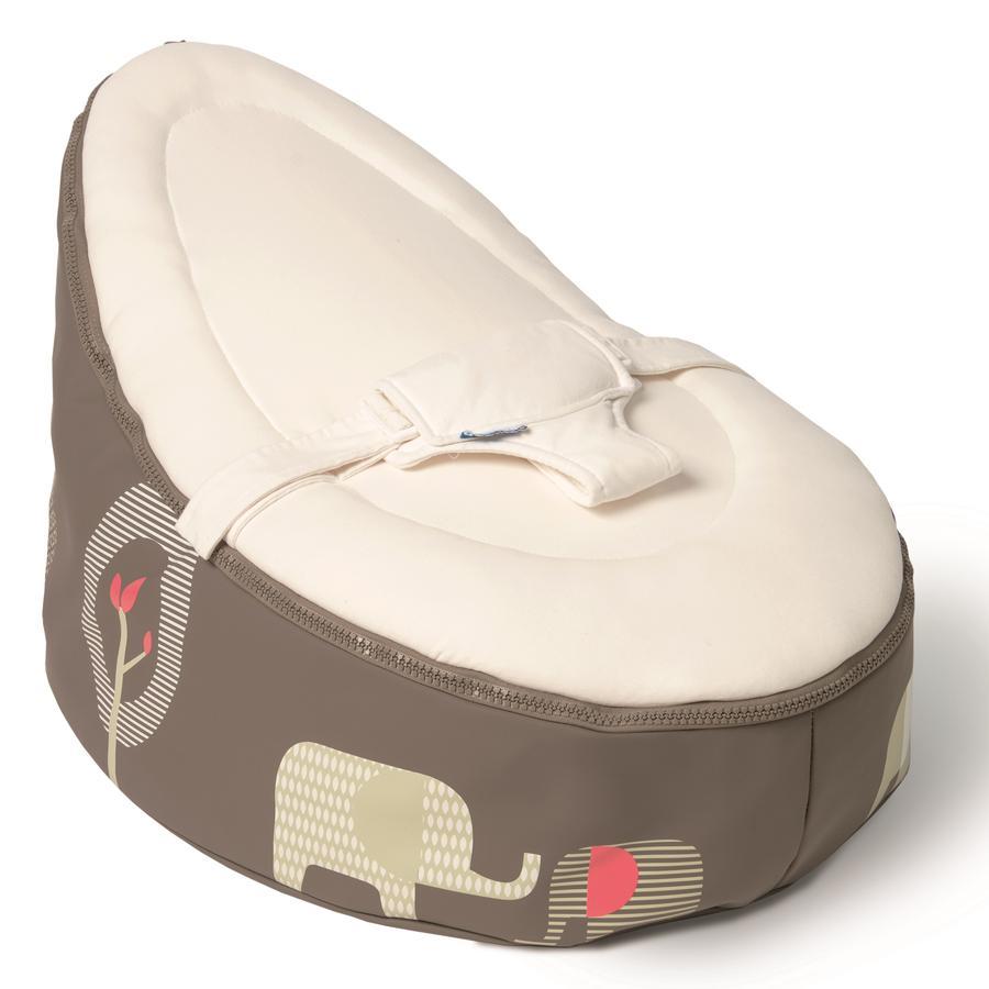 Baby Zitzak Doomoo.Doomoo Zitzak Seat Olifant Taupe Pinkorblue Nl