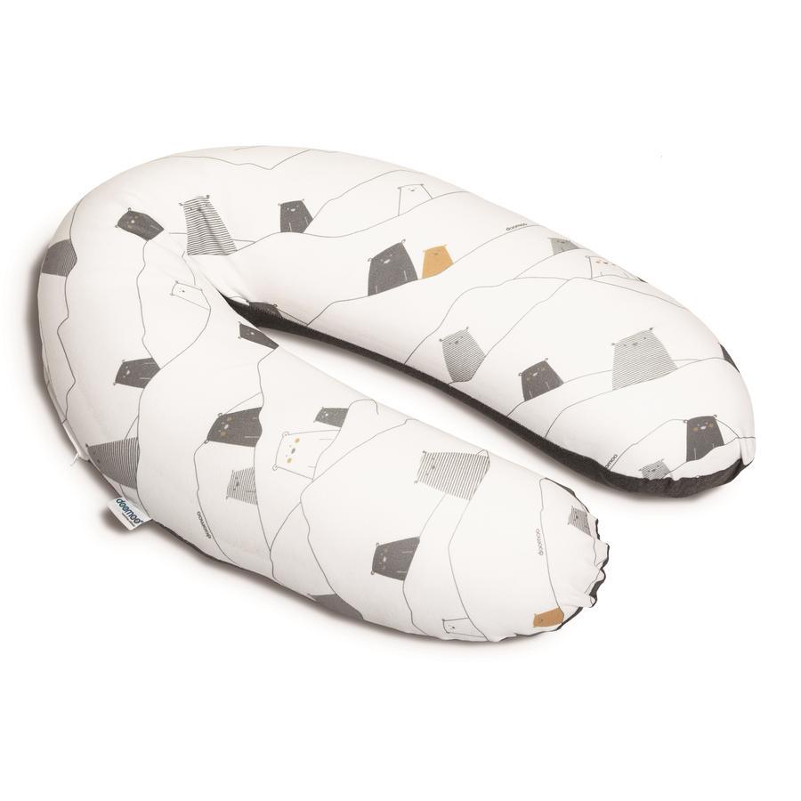 Doomoo kojící polštář Buddy medvěd šedý