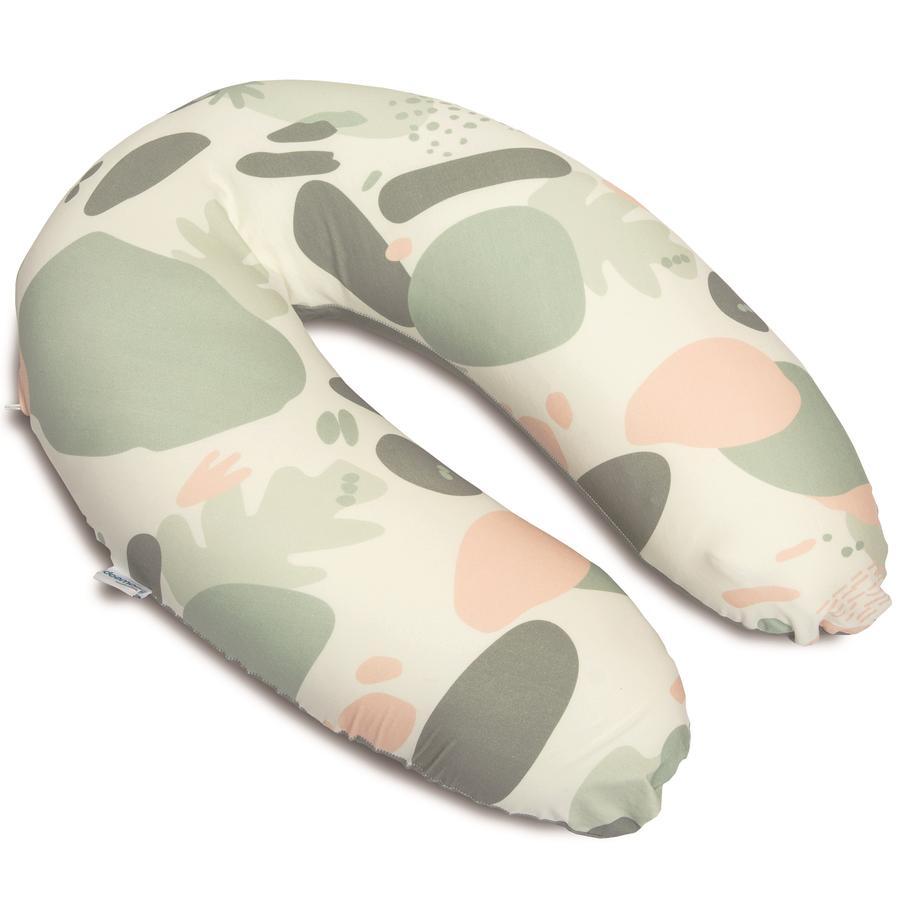 Doomoo Nursing polštář Buddy náhradní obálka rostlinné khaki