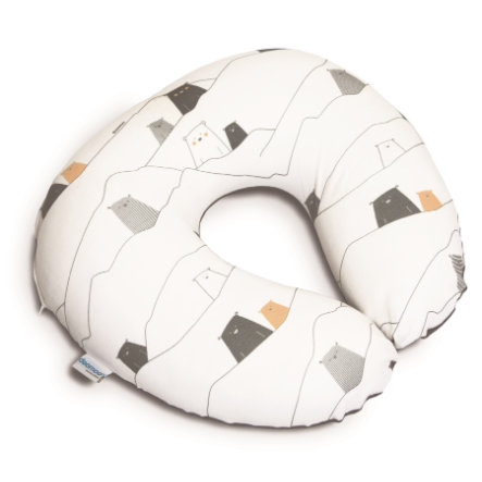 Doomoo Coussin d'allaitement Softy ours gris