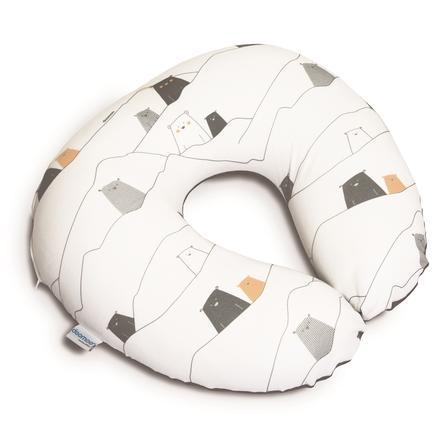 Doomoo Fodera per cuscino da allattamento Softy Orso grigio