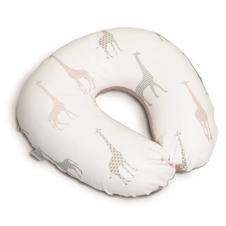 Doomoo Nursing Softy -tyynyn vaihtoseinä kirahvi vaaleanRED