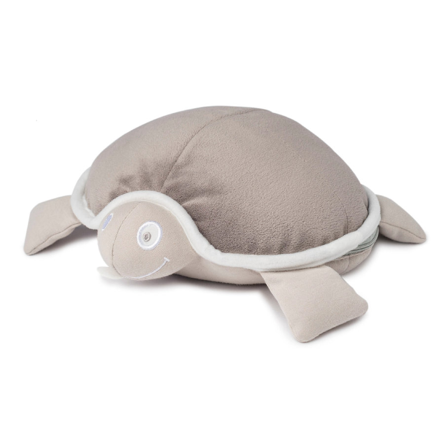 doomoo Peluche bouillotte snoggy tortue taupe