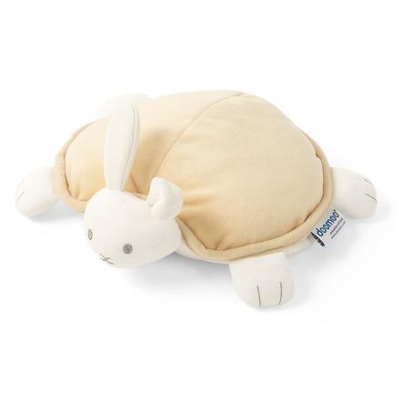 Teplý polštář Doomoo a plyšová hračka snoggy bunny yellow