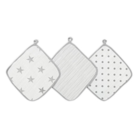Panno aden® Washcloth dusty 3-pack