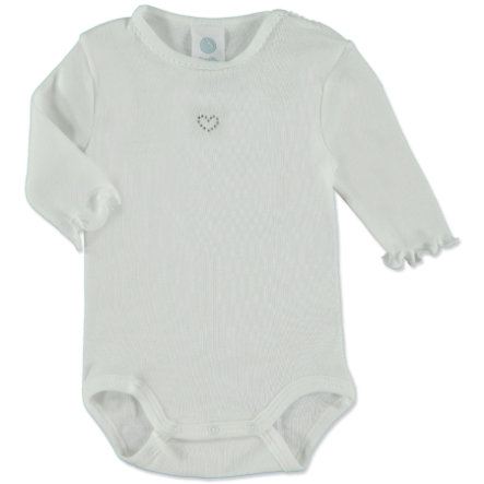 SANETTA Baby Body 1/2 Arm weiß