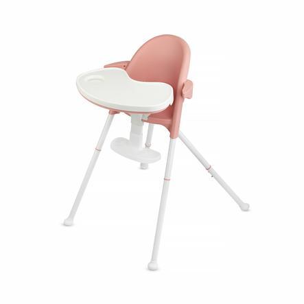 Kinderkraft Chaise haute évolutive Pini rose