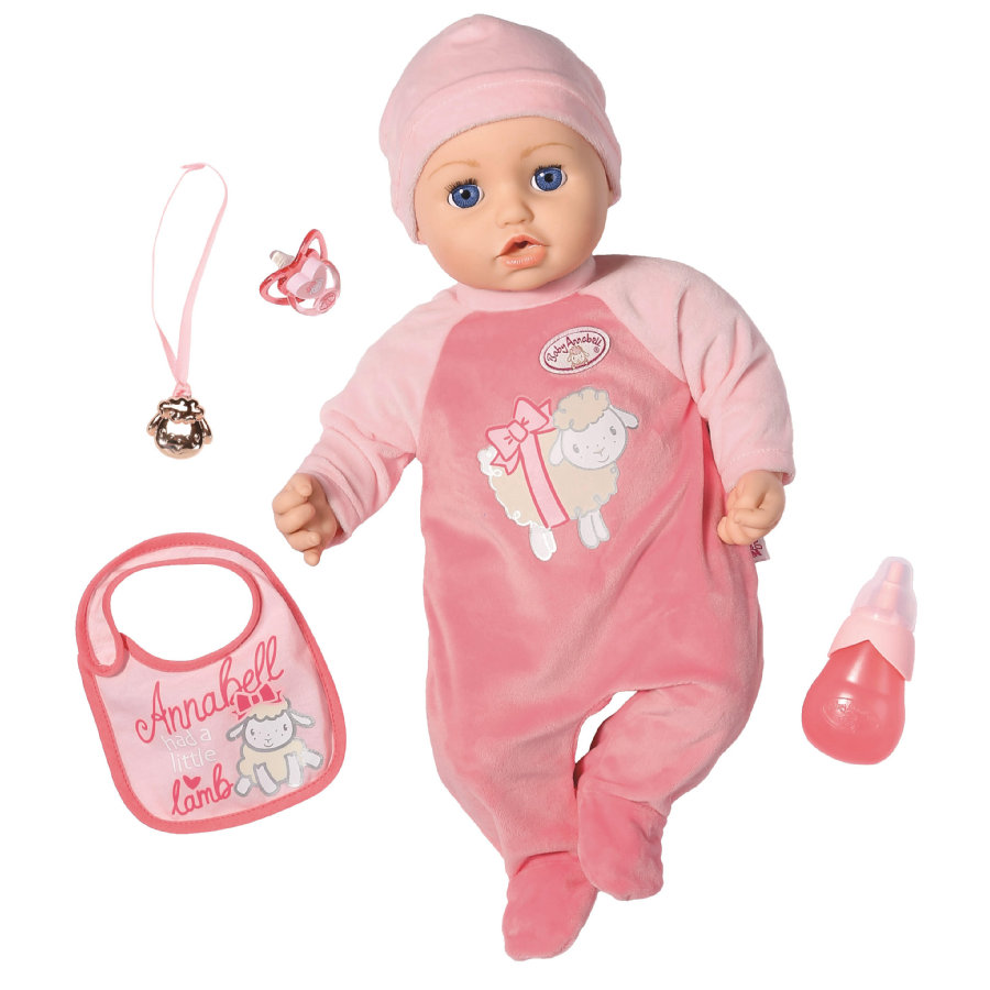 Zapf Creation Poupée bébé Annabell® rose 43 cm