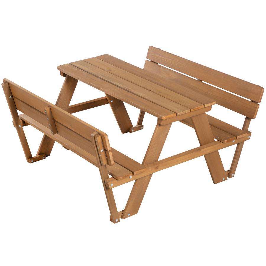 roba Kindersitzgruppe Picknick for 4 Outdoor Deluxe mit Rückenlehnen