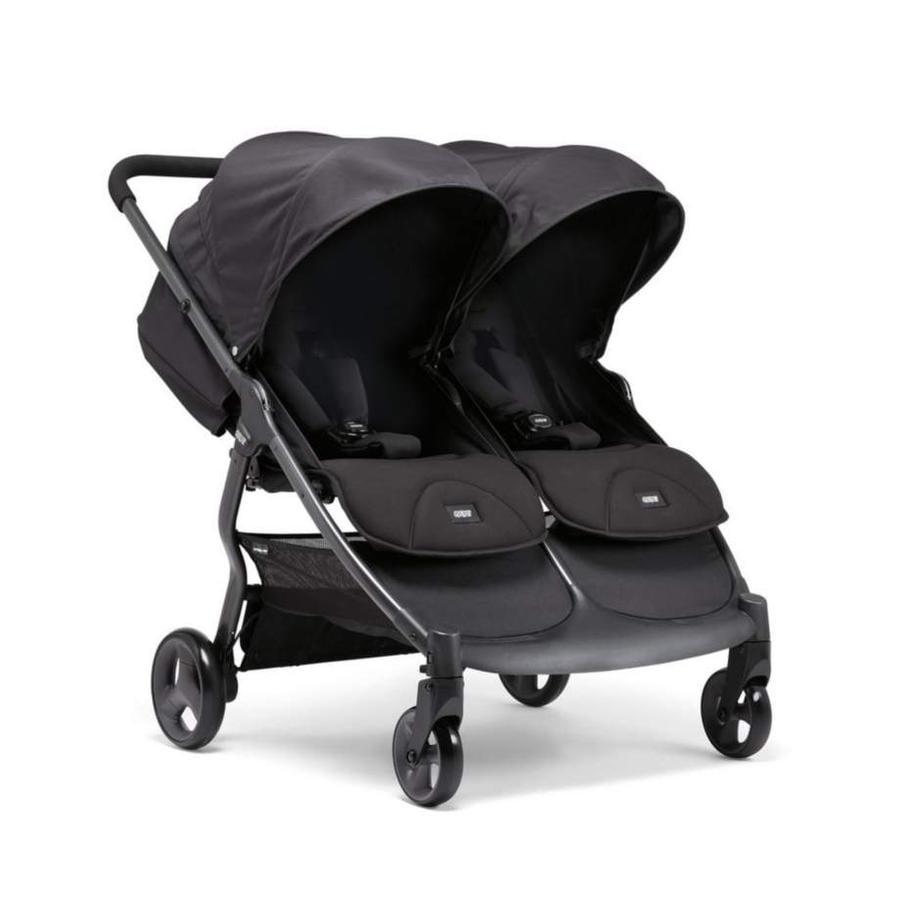 Mamas & Papas Tvillingevogn Armadillo XT Twin Black Jack