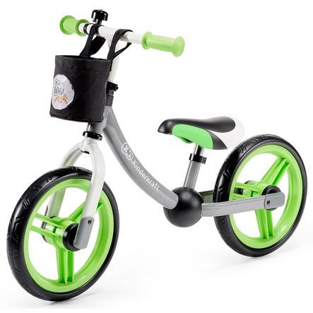 Kinderkraft - Balance Laufrad 2way next, grün-grau