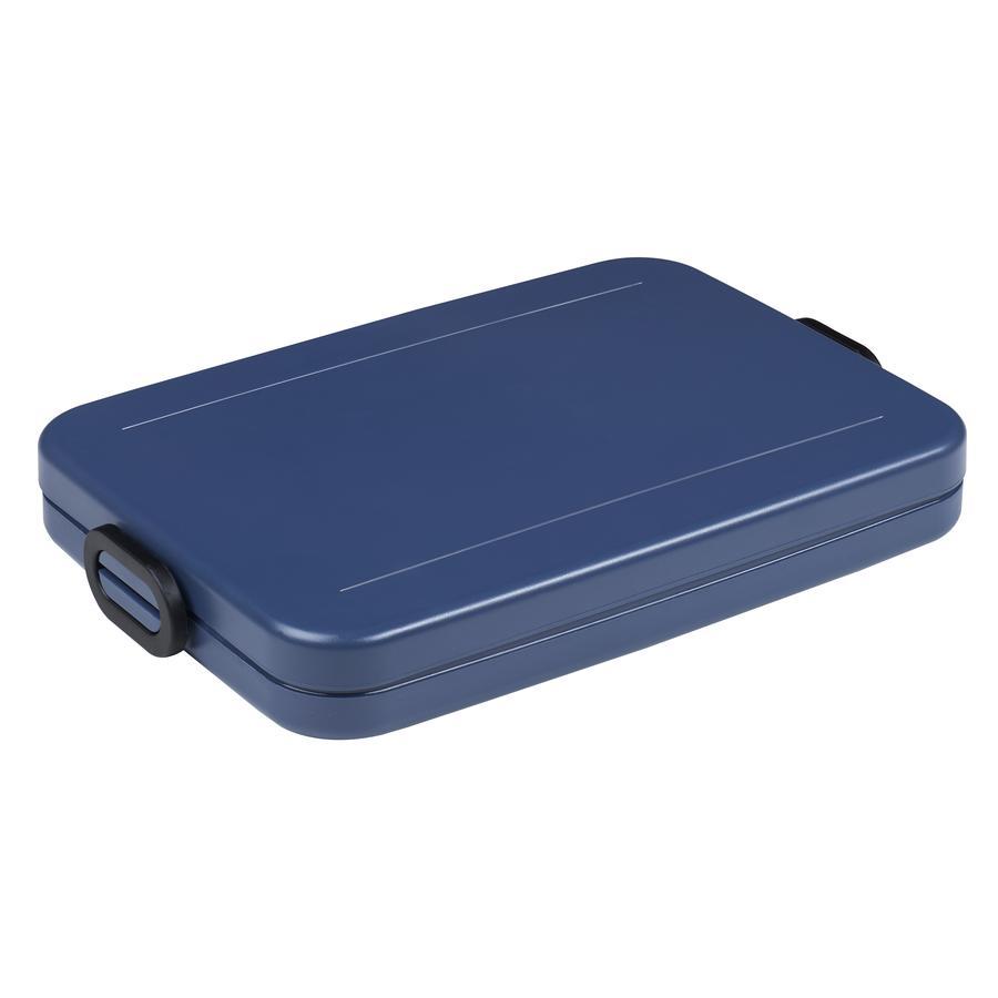 MEPAL Voedingscontainer neemt een pauze in platte lunchbox 800ml.