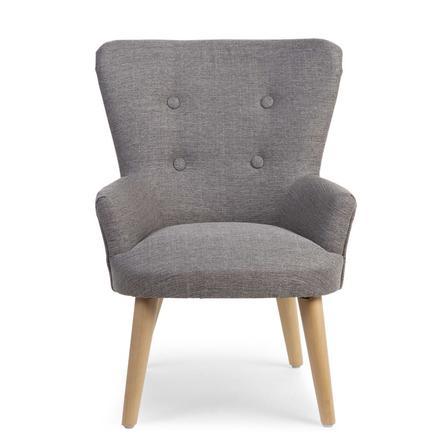 CHILDHOME Kleines Sofa 1P grau