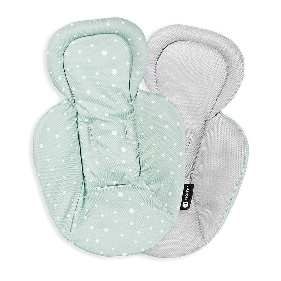 4moms Neugeborenen-Einsatz für mamaRoo, rockaRoo und bounceRoo beidseitig bedruckt Cool Mesh