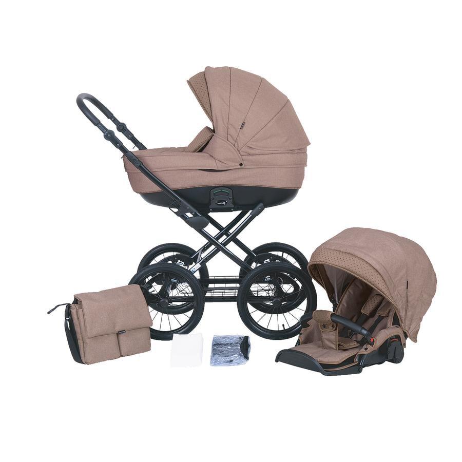 knorr-baby Combi-kinderwagen Kreta Cappucino