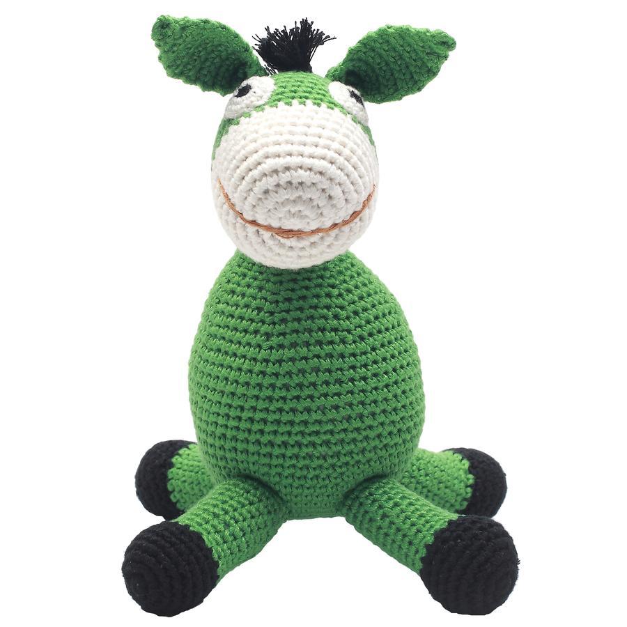 natureZoo of Denmark »gehäkeltes Kuscheltier Esel, grün«