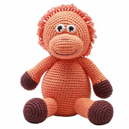 """""""příroda Zoo Dánska """"""""háčkovaná plyšová hračka orangutan, oranžová"""