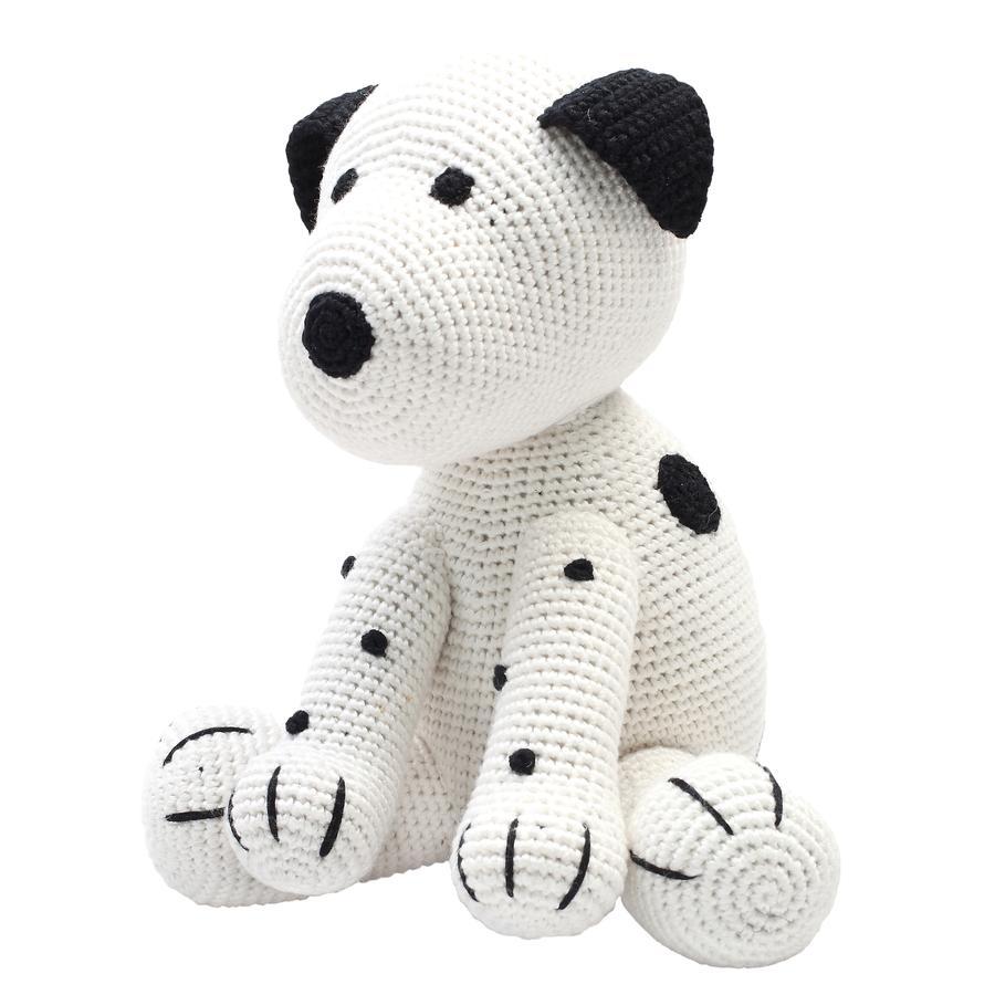 natureZoo of Denmark »gehäkeltes Kuscheltier XL Hund, weiß«