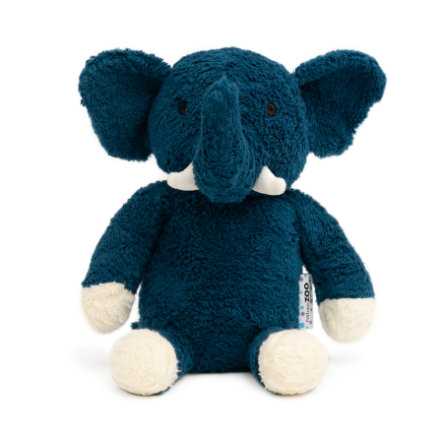 natureZoo of Denmark Knuffeldier Olifant blauw