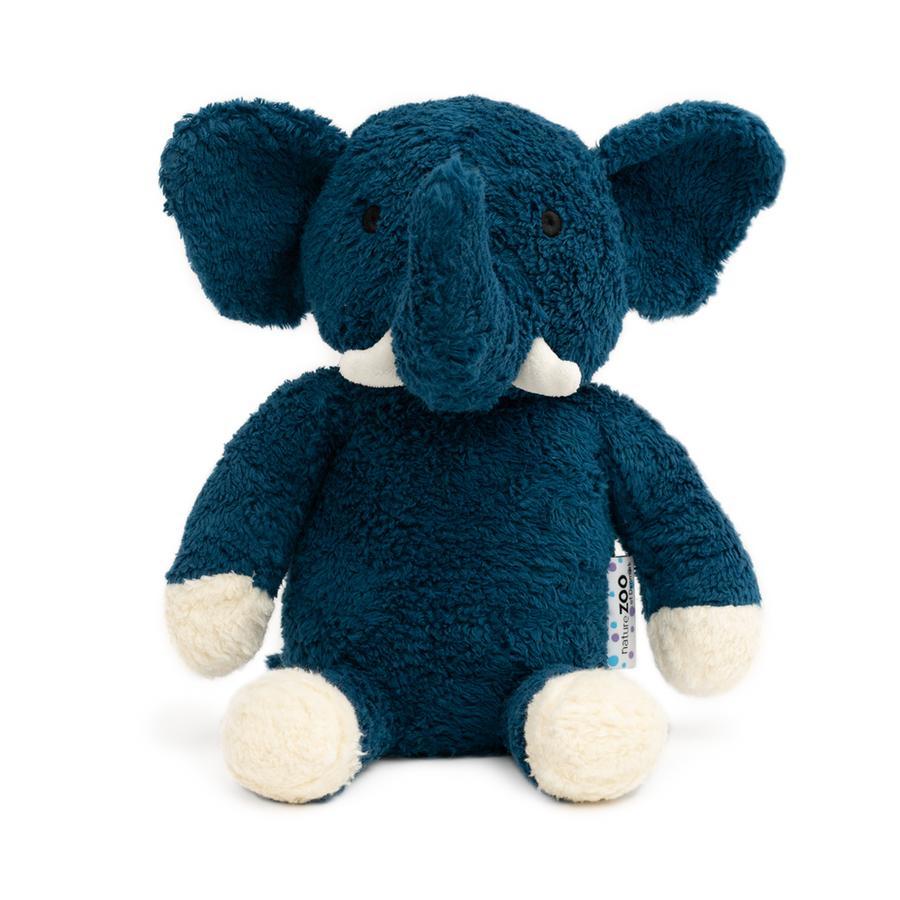 natureZoo of Denmark Peluche éléphant bleu