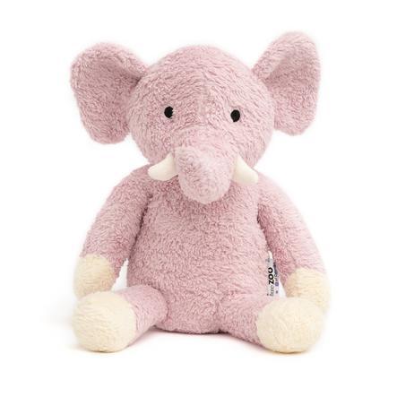 """Nature Zoo of Denmark """"Pehmolelu norsu, vaaleanpunainen"""""""