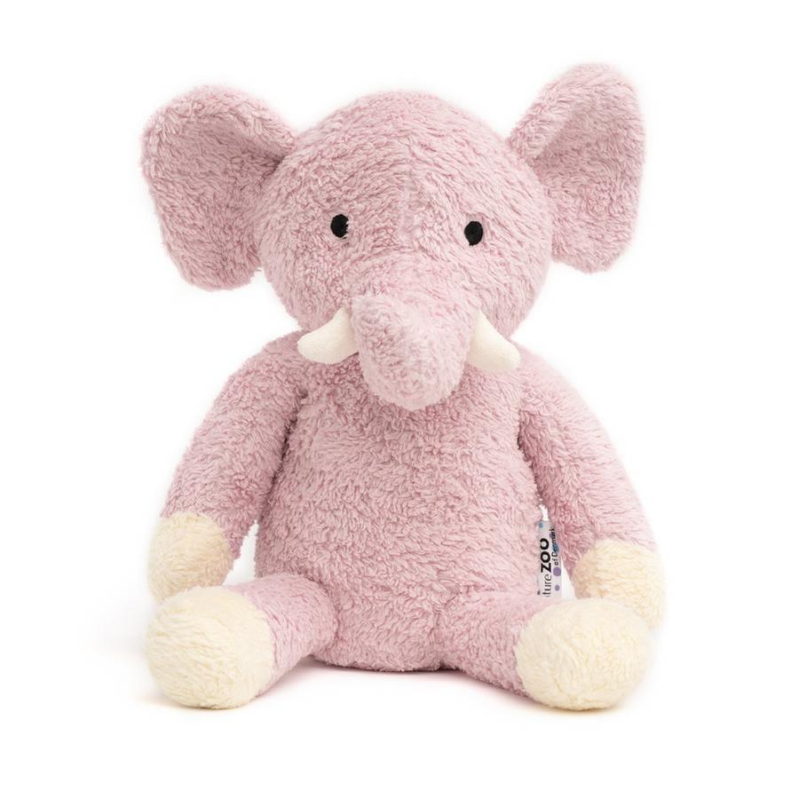 """""""příroda Zoo Dánska """"""""Plyšový slon hračka, růžový"""""""""""""""