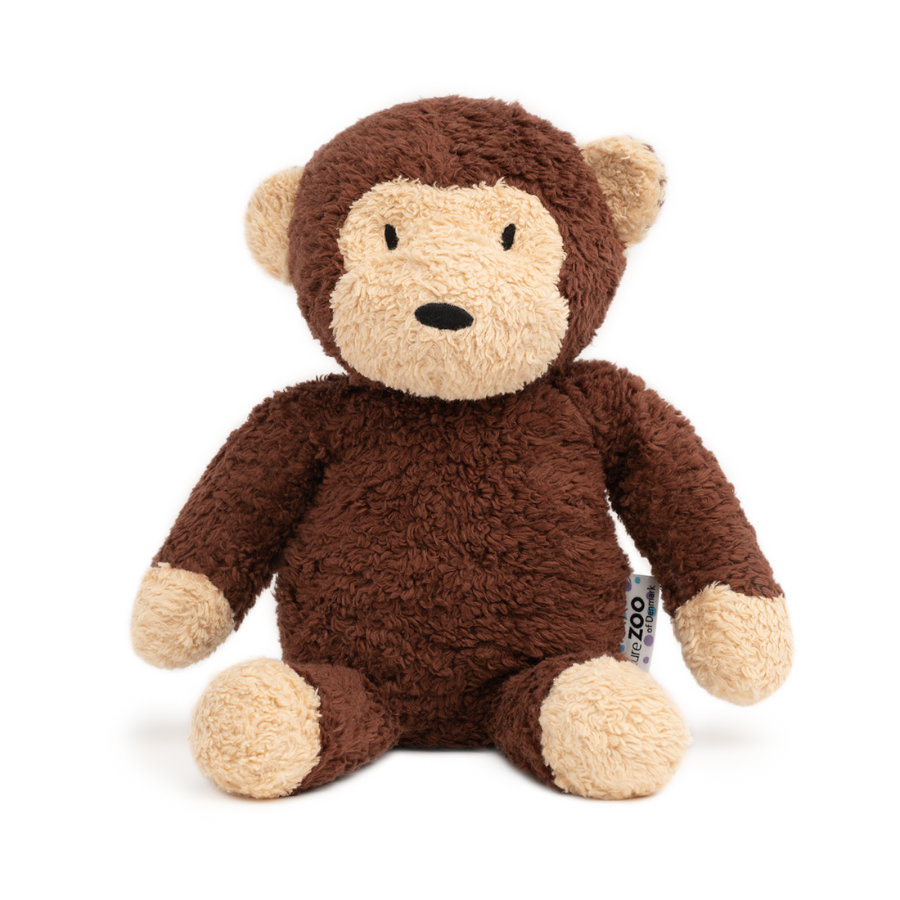 """Nature Zoo of Denmark """"Plyšová hračka XL opice, hnědá"""""""