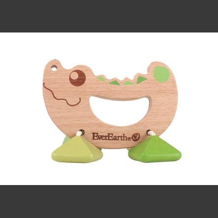EverEarth® Rassel Spielzeug Krokodil baby markt.at